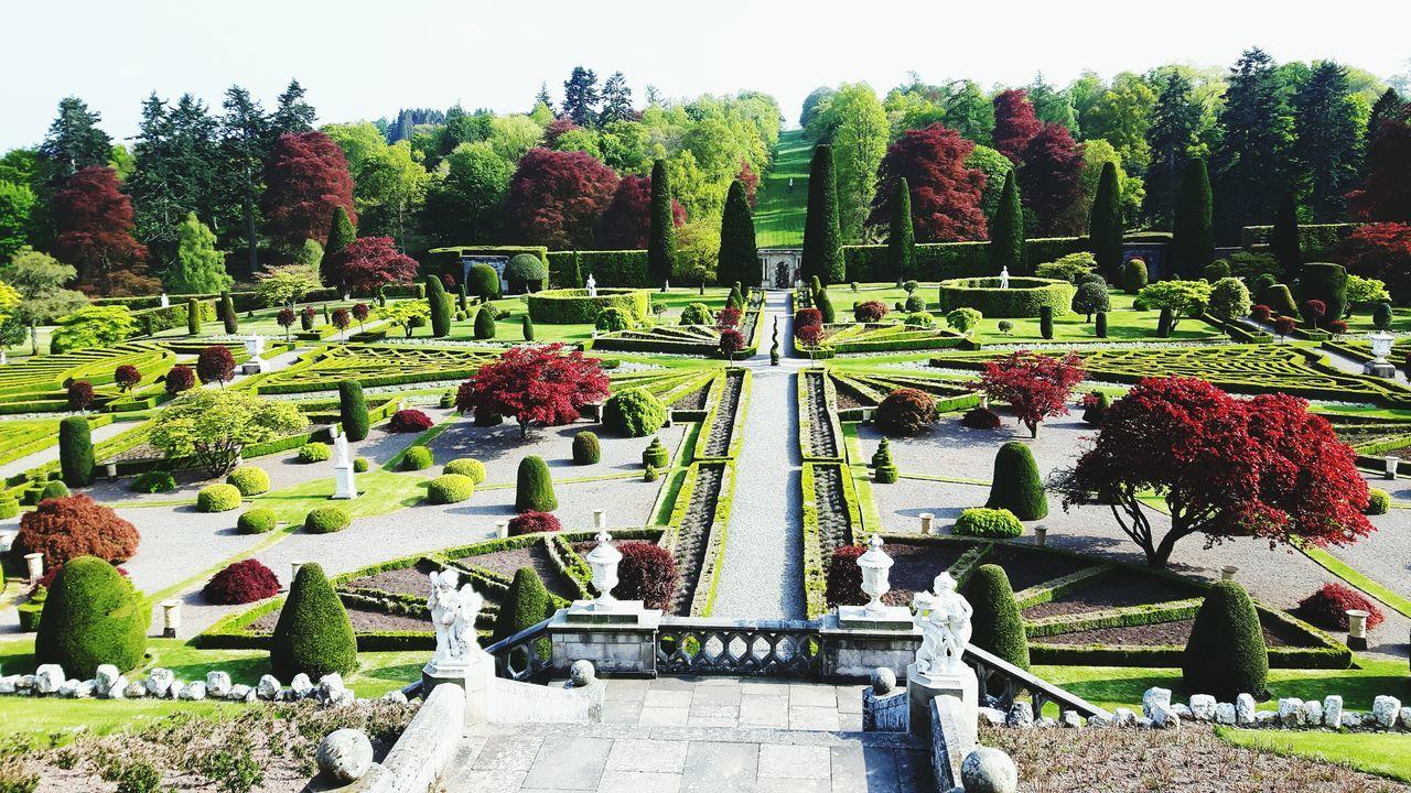 Scotland. Springtime The Great Outdoors - 2017 EyeEm Awards Drummond Castle Gardens Gardens Nature Outdoors