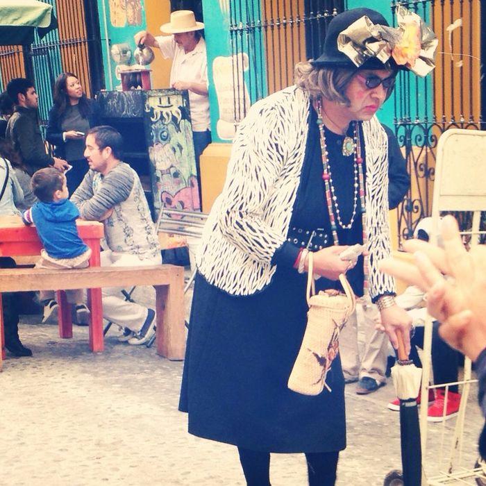 Barrio Antiguoo Monterrey Callejon Del Arte Personajes