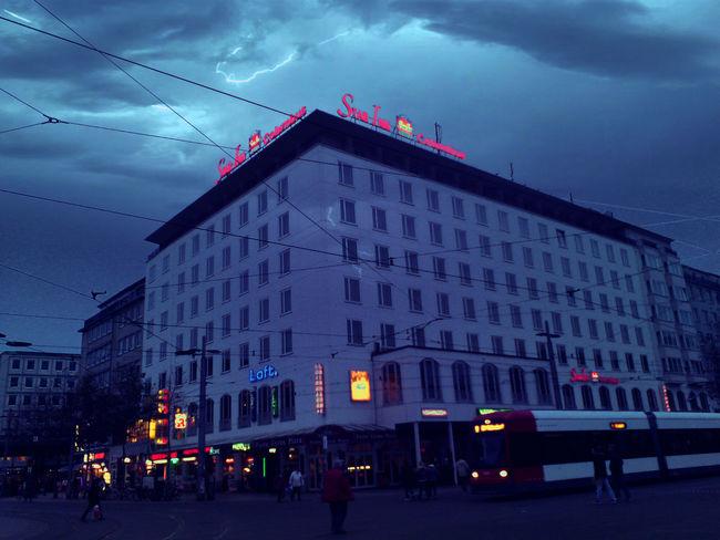 Flash In Bremen Germany Cities At Night20I6 EyeEm