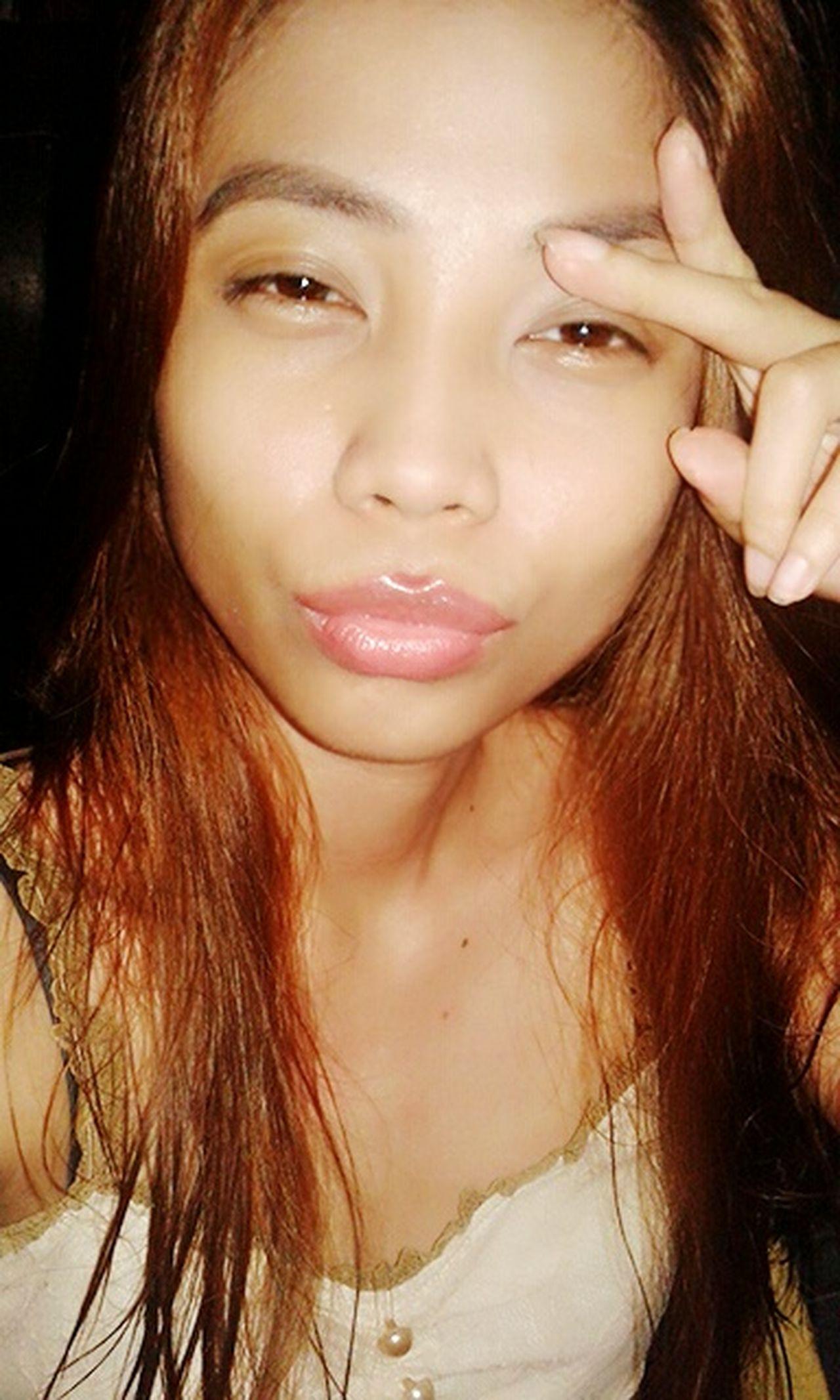 Hi! That's Me Peace Selfie ✌ Wackyface WackyWednesday Cheese! Stay True, Be YOU ❥ Cuteness KAWAII