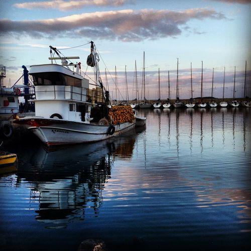 Cityofizmir Check This Out Izmir Fishing Boat  ILoveMyCity Sea First Eyeem Photo Taking Photos