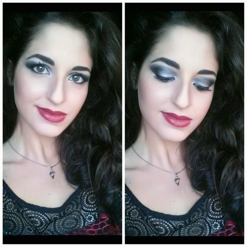 Me Makeup Provatrucco Truccodasera Makeupartist Girl Italiangirl Pic