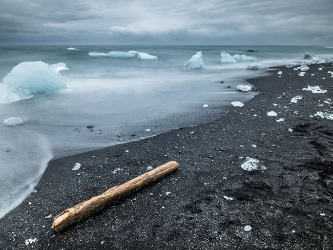 Beach Beauty In Nature Explore Horizon Over Water Icebergs Iceland Islande Majestic Nature Outdoors Scenics Sea Seascape Shore Summer Tranquil Scene Tranquility Travel Destinations Water