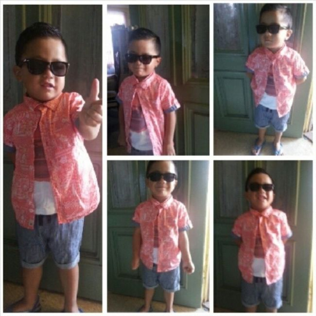 Lano Nephew  Showinoffhiscuteoutfit LongTime  blessed