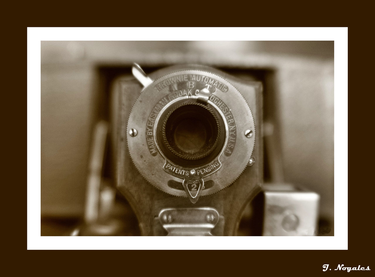 Antique Camera - Photographic Equipment Close-up Kodak No People Old-fashioned Photography Themes Retro Styled Technology Vintage