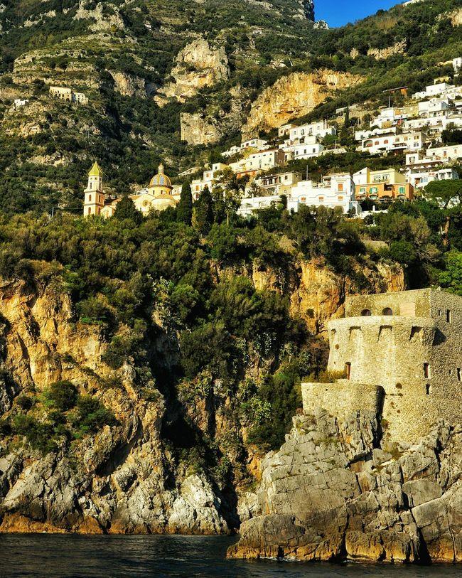 """A Feast for the Eyes"" - Amalfi Coast - Italia Amalfi Coast Photobydperry Coastline Coastal Feature Town On The Hill Italy"