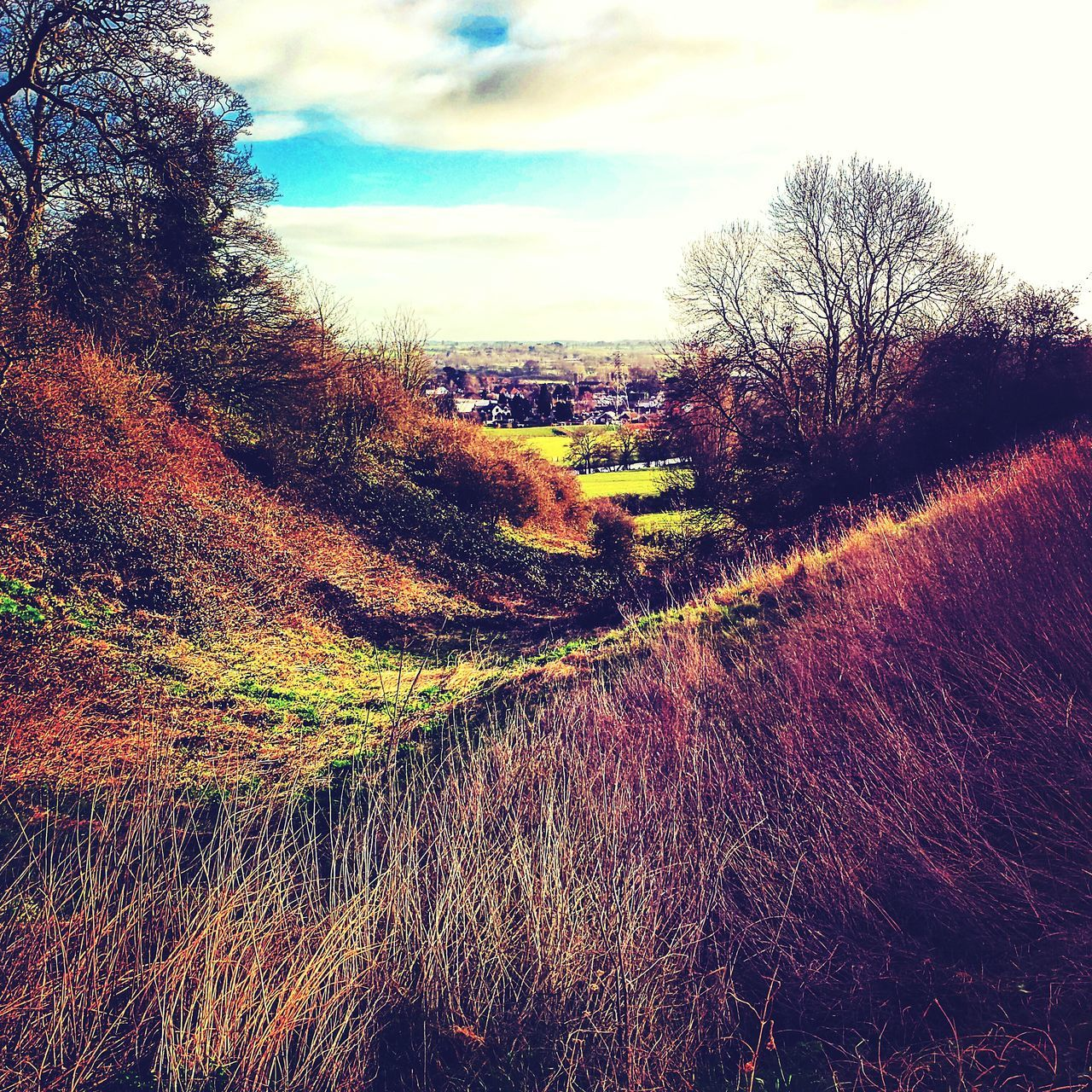 View from Tutbury Castle Beautiful Picture Landscape_photography Valley View Visit Staffordshire Staffordshire Tutbury