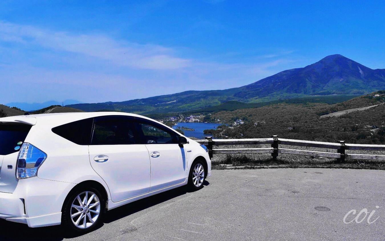車山高原 白樺湖 Hello World Japan Beautiful Nature Memories Sky Traveling 標高2000メートル近くまで車で、冬はスキー。今はニッコーキスゲの季節🌏