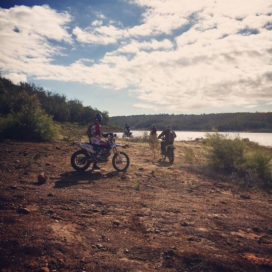 Dirt Bike Outdoors