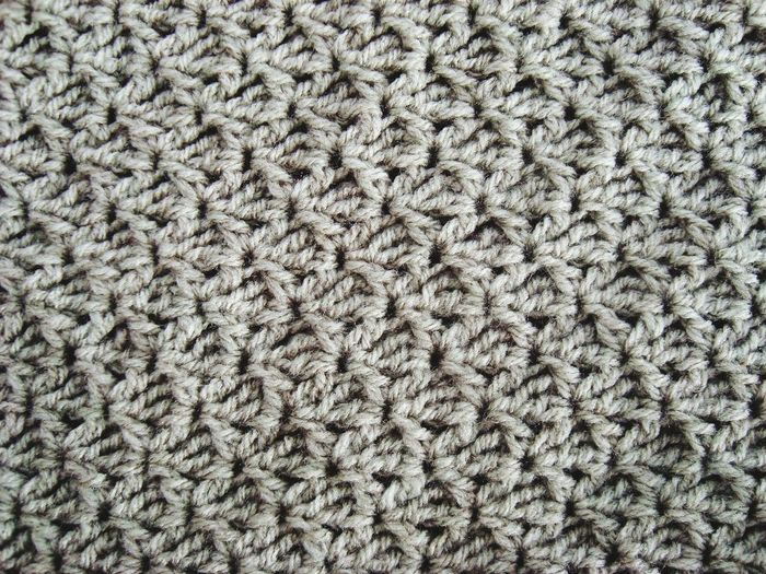 Bolsos Que Enamoran Gris Ganchillo Handmade Crochetlove DIY Crocheting Is My Hobby Crochet Crocheting Creativity Backgrounds Full Frame No People Textile Pattern Close-up Indoors