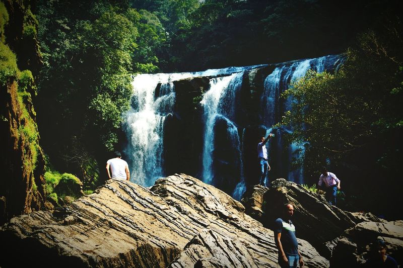 Waterfalls are the best!!!! Water Falls Rocks And Water A Memorable Trip
