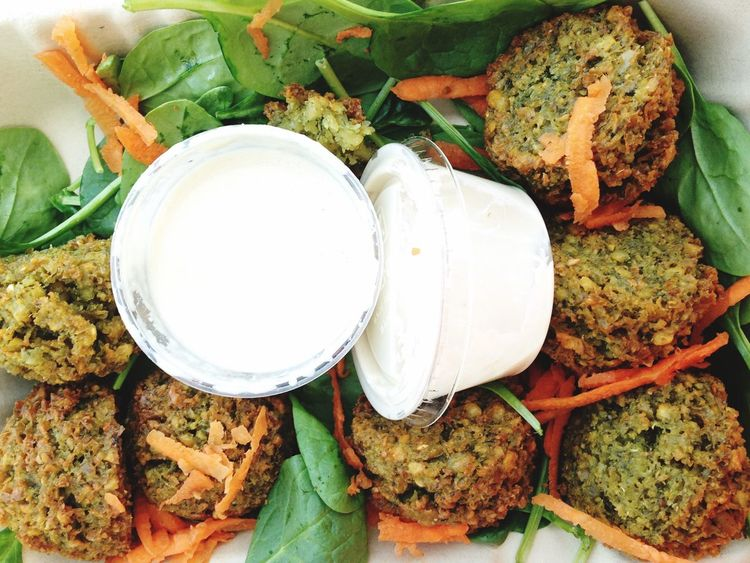 Healthy Eating Food And Drink Food Close-up Falafel Freshness Ready-to-eat No People