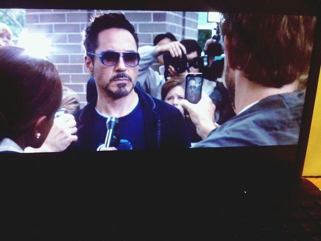 un peux de repos Sony Vaio Iron Man 3