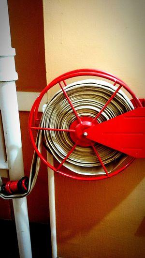 Fire hose. Image