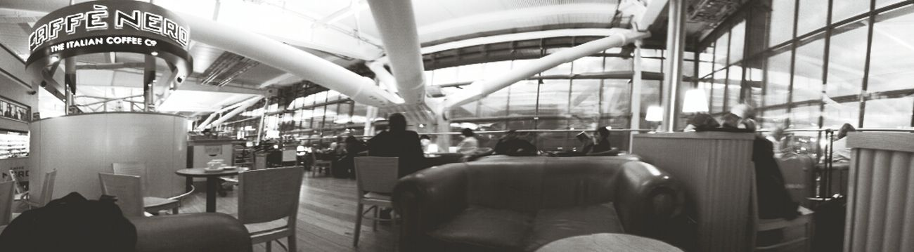 Coffee Time at the Airport