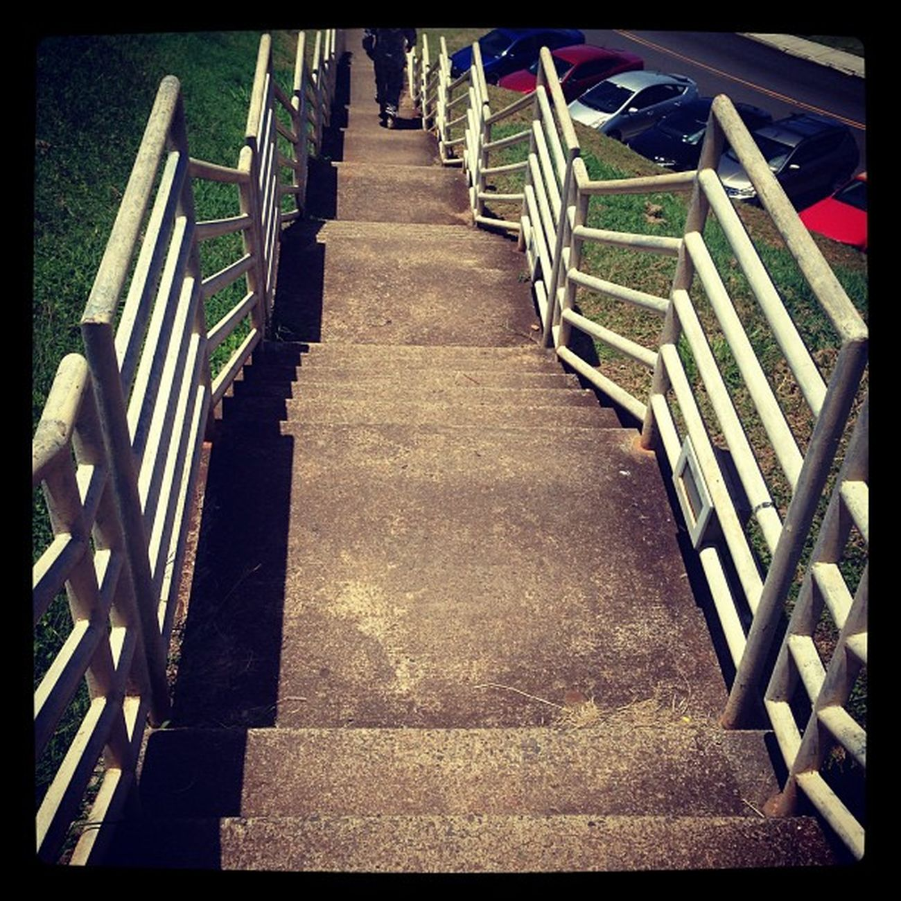 Stairs Staircase Hateparkingfar Parking workout exercise dayum