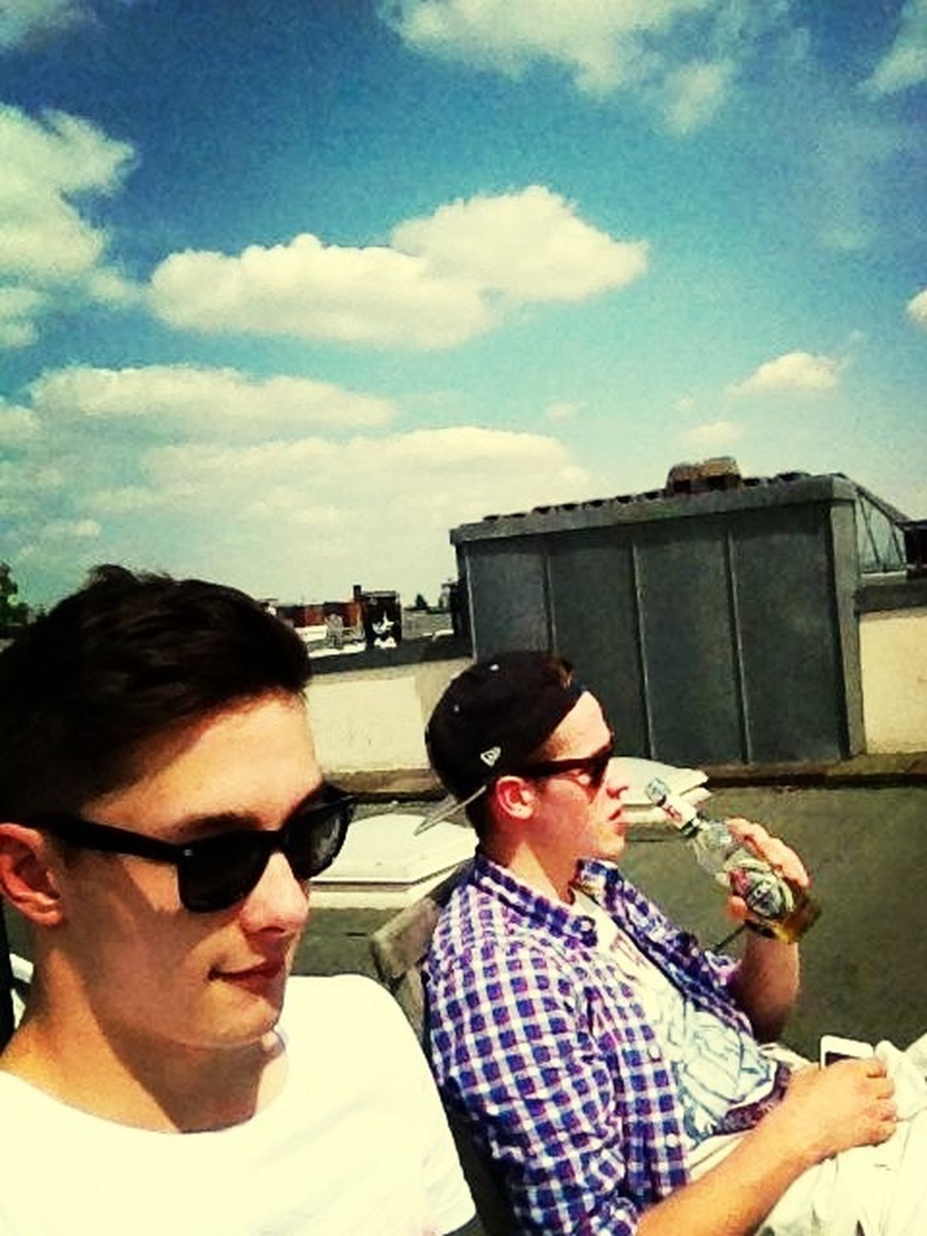 Havin A Beer Over Hamburg