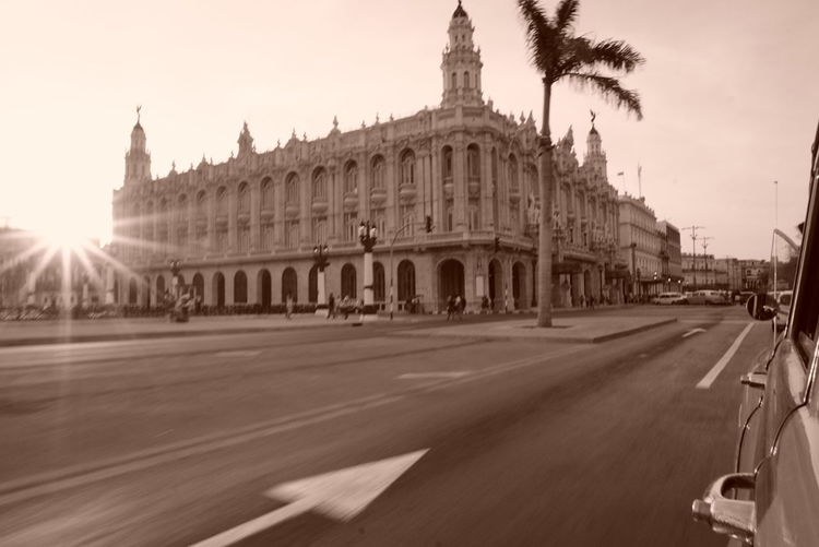 La Habana , Sepia_collection , Cuba , Cuba Collection , Road
