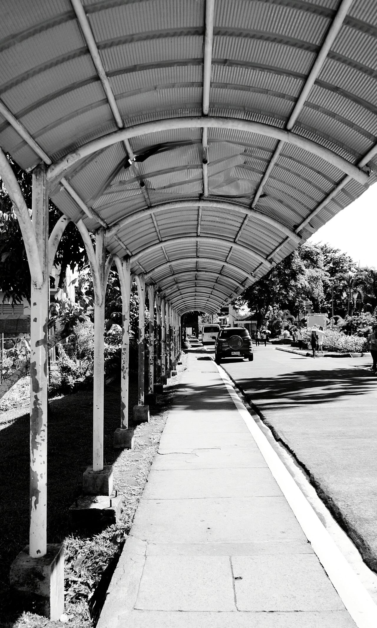 Walkway. Bicol University Daraga, Albay Philippines EyeEm Gallery University Campus EyeEm Best Shots Eye4photography  Eyeem Philippines The Week On EyeEm Deceptively Simple Landscapes With WhiteWall