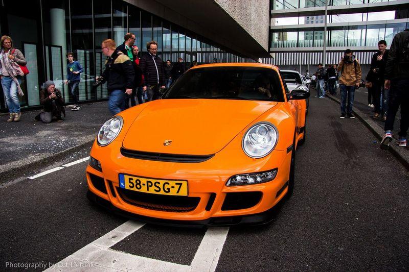 Porsche Gt3 RS Porsche Gt3rs Amsterdam Gumball3000