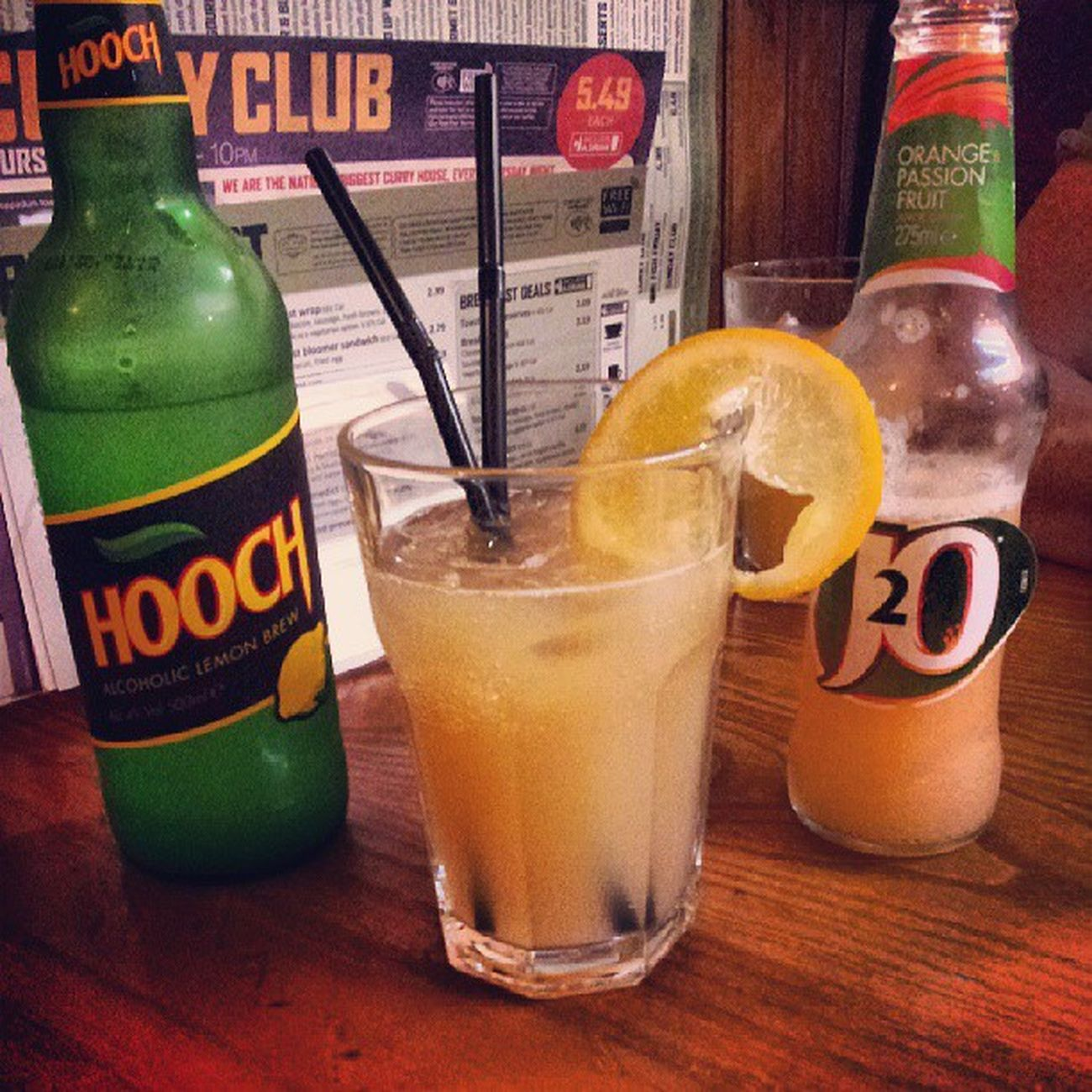 First of many! Hooch J2O Publunch