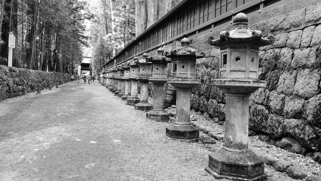 Stone Lanterns Nikko Toshogu Shrine Unesco Shinto Shrine Asian Culture Culture Japanese Culture Bnw Bnw_collection Bnwphotography Bnw_captures Bnw_world Bnw_japan Japan Travelphotography