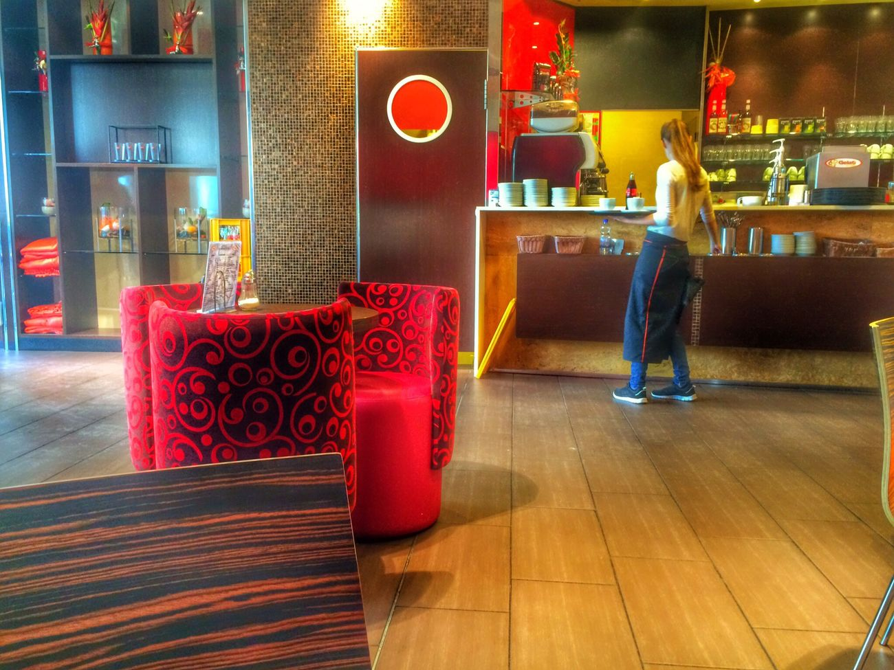 Espresso Cappucino Meeting Friends HDR