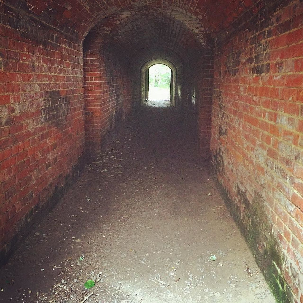Hilsea Lines Rampart Tunnel Ancient Monument Arch Architecture Brick Brick Wall Built Structure Day Defensive Structure Fortifications Hilsea Lines Hilsea Lines Ramparts No People Old Orange Color Ramparts Red Tunnel Tunnel View