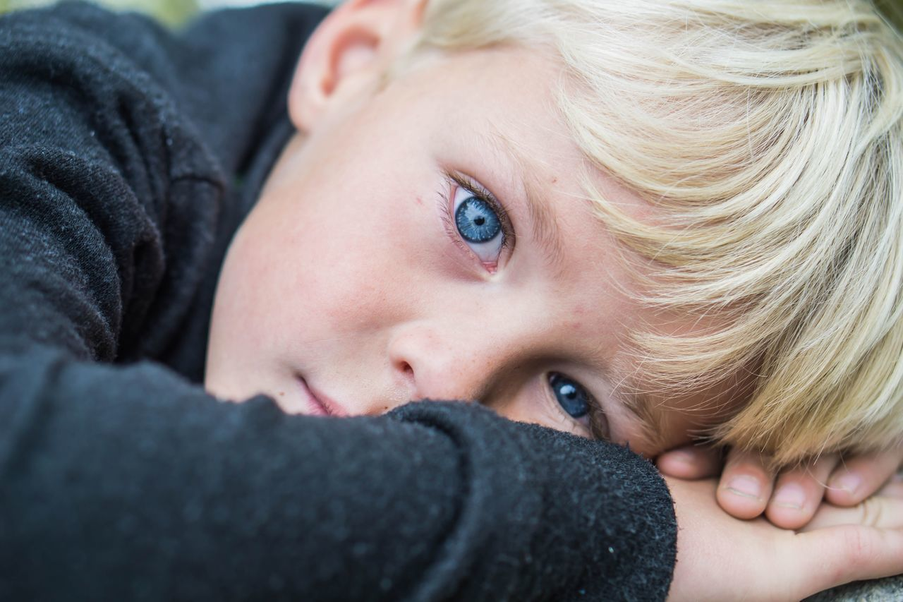 Beautiful stock photos of kids,  30-34 Years,  Blond Hair,  Blue Color,  Boy