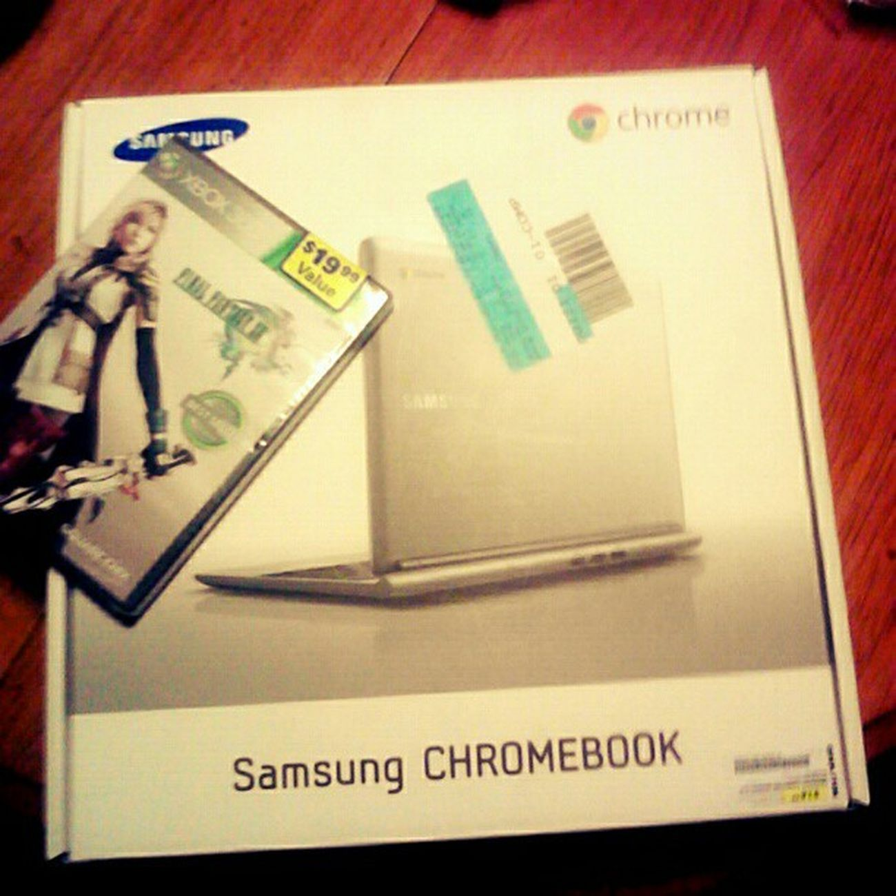 #new stuff! I got myself a #chromebook and #finalfantasyxiii. Finally! Wtfgamersonly FinalFantasy13 Google Wtfgo New Samsungchromebook Laptop Xboxgame Gadgets Googlechromebook Tech Samsung UltraBook Gamer Xbox360 Device Loot Finalfantasy Chromebook FinalFantasyXIII