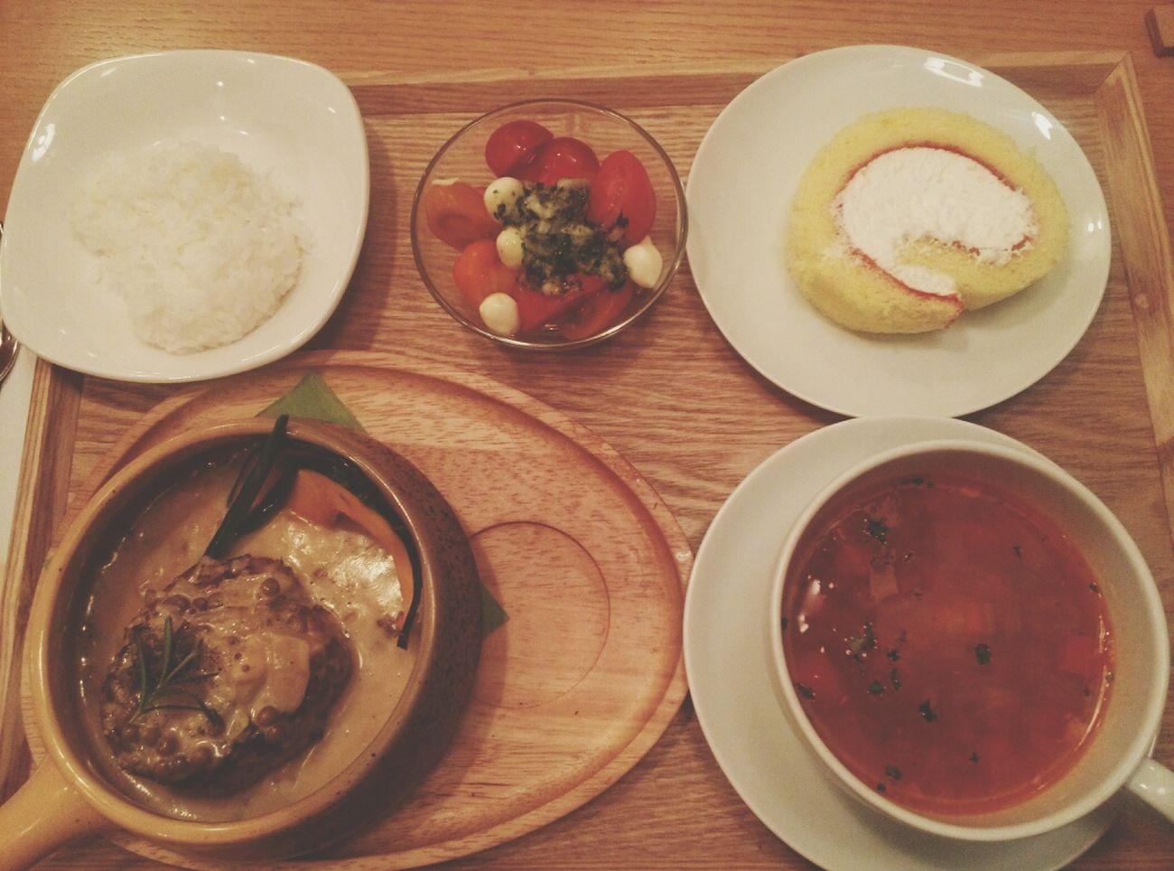 Dinner 함박스테이크 Tomato Series