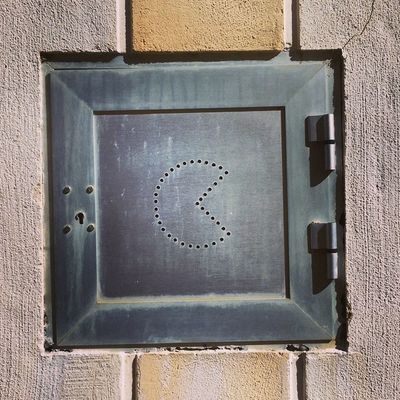 The home of Pac-Man? Didn't know he retired on Mallorca. ? Pacman Portdesóller Mallorca Baleares