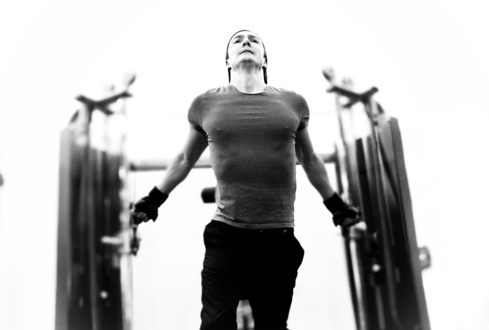 Chest workout Healthy Lifestyle Healthy Goals New Years Resolutions 2017 Exercising Muscular Build One Man Only Gym Healthy Lifestyle Sports Training Athlete Strength Lifestyles One Person Sportsman Workout Weights BodyBuilder Weightlifting Weight Training  Fitness Model Fitness Training Blackandwhite Black And White Monochrome_life Wellbeing Health Club Young Adult Sport Be. Ready.