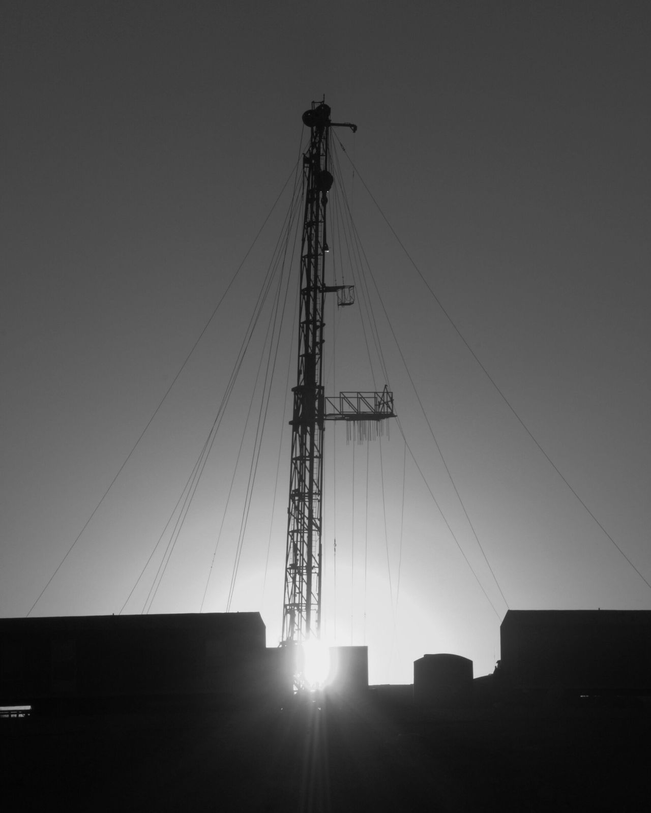 Sky City Development Silhouette Construction Site Electricity Pylon Industry Built Structure No People Outdoors Business Finance And Industry Day Black&white Blackandwhite Black And White Collection! Eyeemphotography Black & White Photography This Week On Eyeem Blackandwhite Photography EyeEm Gallery Texas Photographer