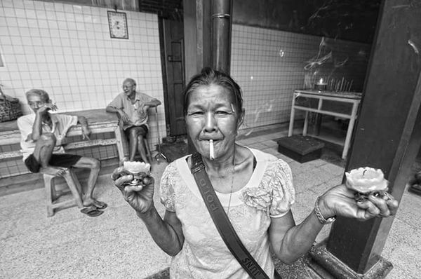 Frower auntie RePicture Ageing The Human Condition BW Portrait