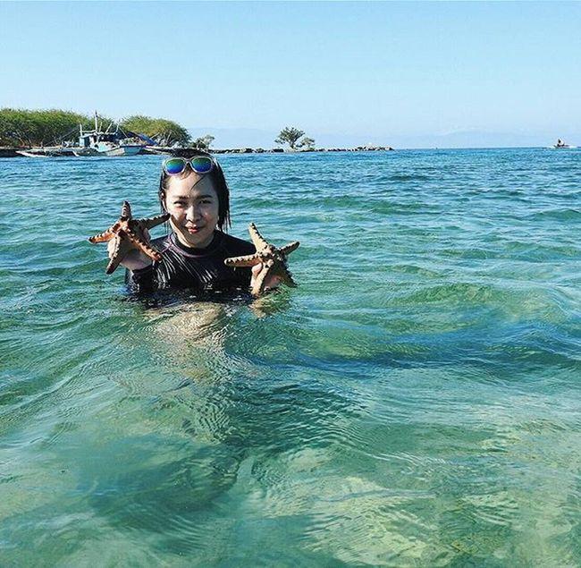 Starfishing. ⭐🌊