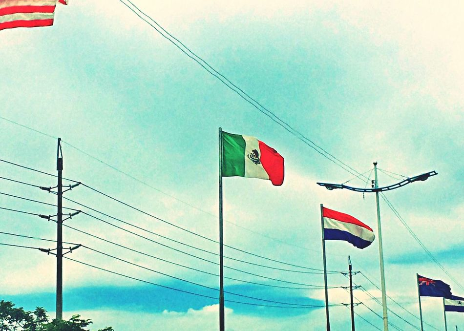 Beautiful stock photos of mexican flag, Blue, Cable, Cloud, Connection