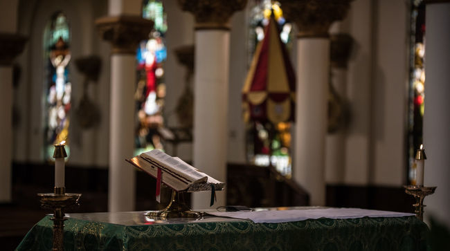 Bible Book Day Indoors  Nikon D750 No People Oil Lamp Photographyisthemuse Quiet Places Religious  Religious Architecture Sacred Sacred Places Sanctuary  Table