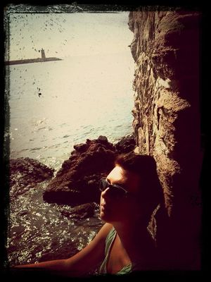 Taking Photos at Antibes by Luluxx