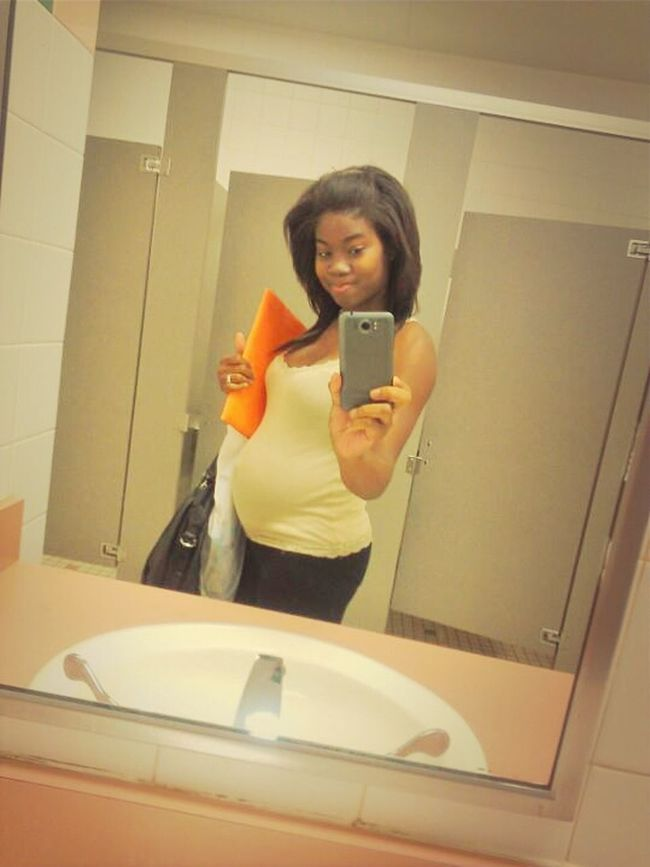 When I Was Pregnant&Going To School!