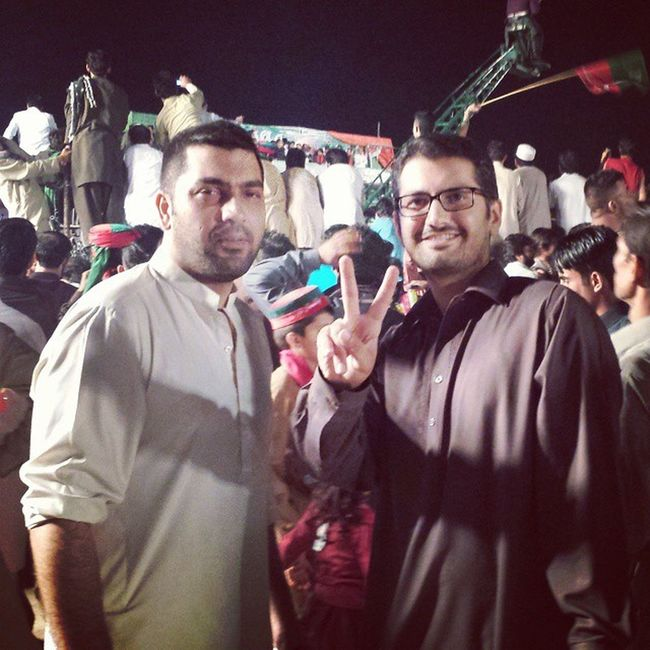 In Dharna . Gonawazgo GnG DChowk islamabad pti Pakistan