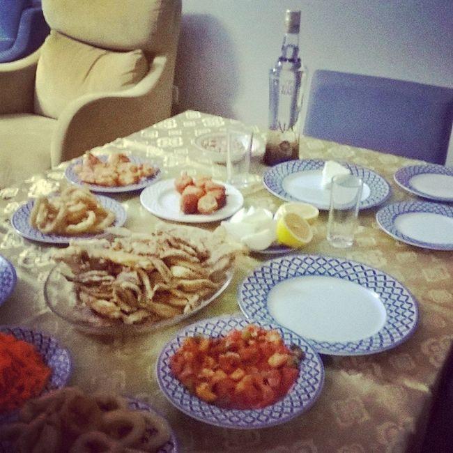 My Home Deniz Mahsulleri Evde Yemek Keyfi Beylikdüzü/istanbul Yengeç Calamar Karides Fener Balığı Sote:)