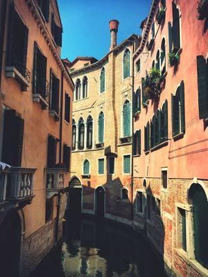 Architecture Window Building Exterior Built Structure Day Outdoors No People City From My Point Of View Travel Destinations EyeEm The Architect - 2017 EyeEm Awards The Street Photographer - 2017 EyeEm Awards EyeEm Gallery History Brick Wall Canal Venice Building Historical Building EyeEm Best Shots EyeEmBestPics Eyeemphotography Mix Yourself A Good Time