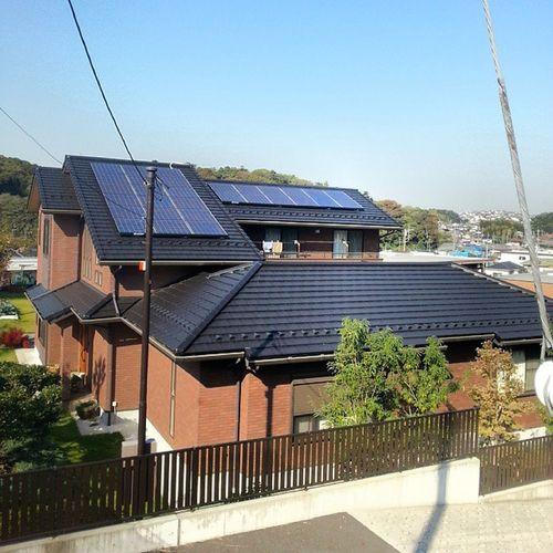 Stoked on this pad Sharp Solarpower Somedayihope Wayofthefuture
