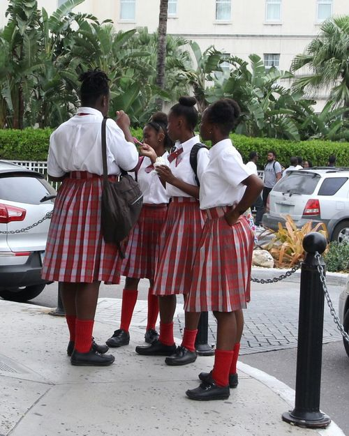 School Uniforms Around The World Girls Bahamas Nassau After School