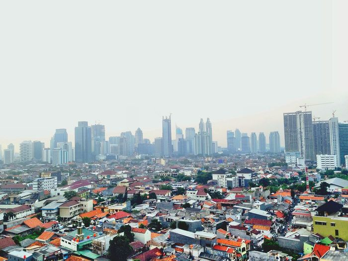 Messy yet charming Jakarta. Jakarta INDONESIA Capital City Metropolitan Developing Country Jawa Jakarta Pusat Central Jakarta Skyscrapers Class Distinction Polluted Sky Bigcitylife Asia Pacific Southeast Asia City Under Development Developing City