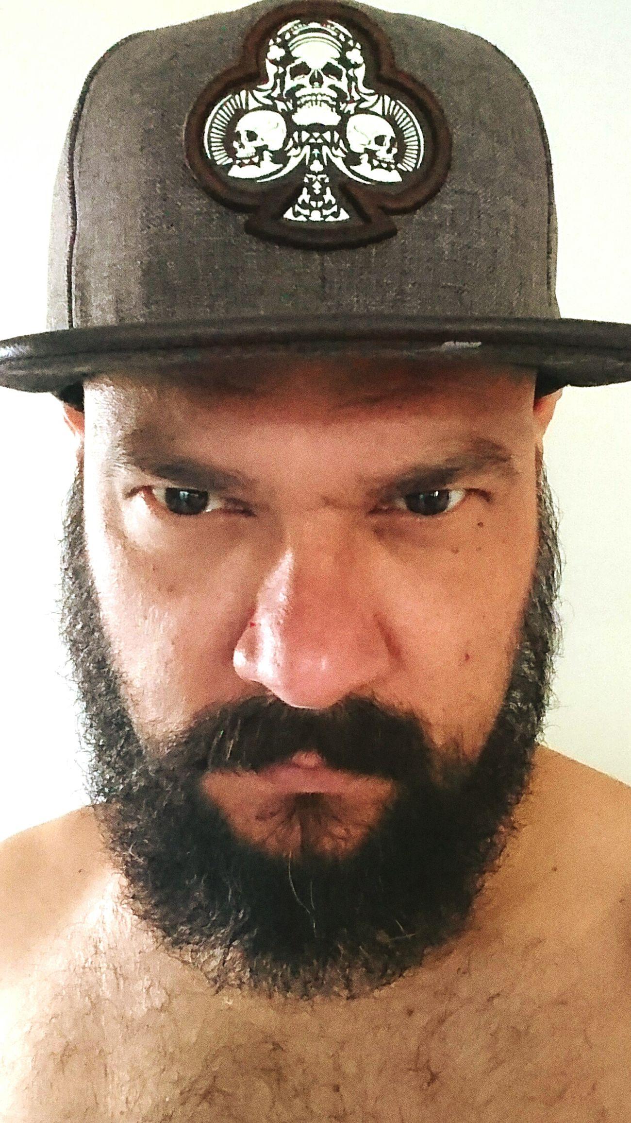 Mann Men Beard Cap Flap Young Money Machoman