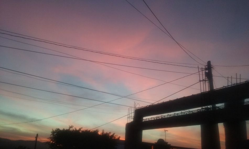 Relaxing Getting Inspired Take A Break Monday Sky Sky And Clouds Point Of View Sunset Change Your Perspective Changeyourperspective Mexico ☆ Cables Colores Colores Colores Colores De La Naturaleza Luz Luzern Marzo Mexico <3