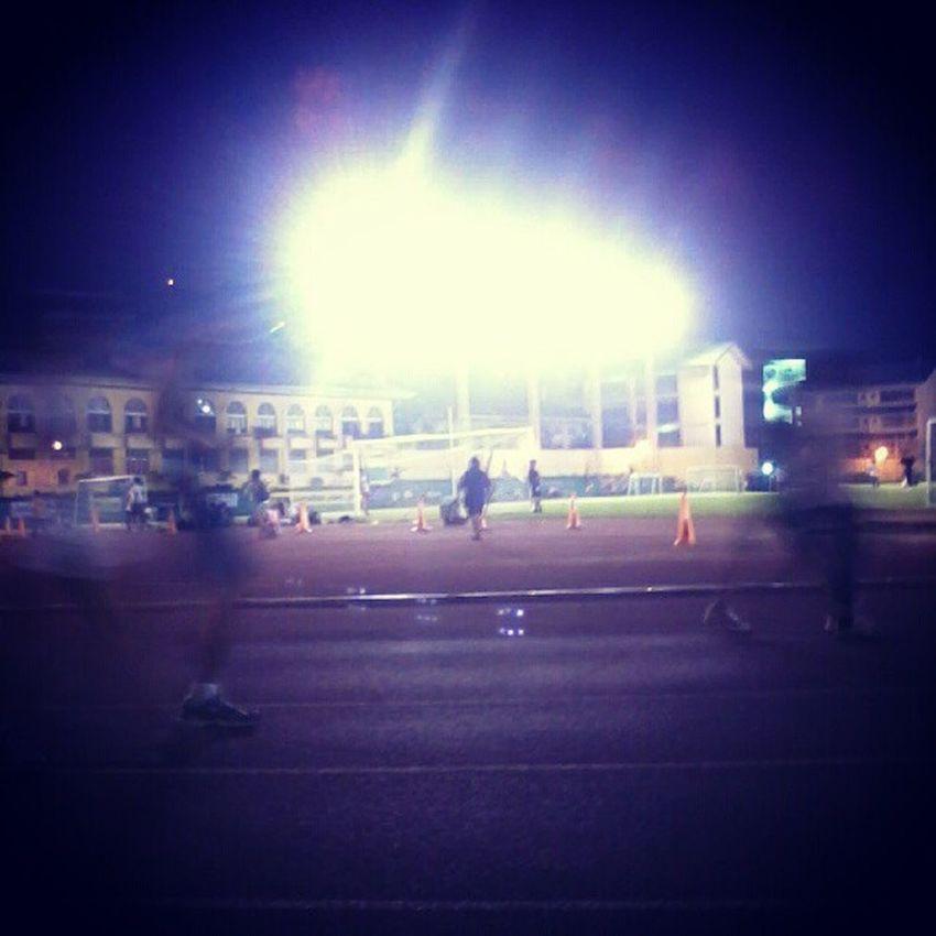 Jog. FUN. Run. :) Photography Still Great Trackoval lights sweat exercise