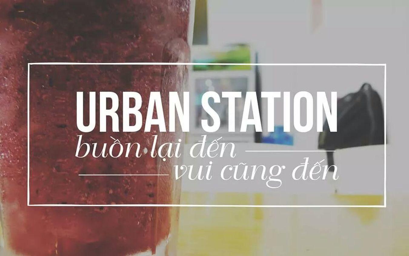 Urbanstation Coffee Shop Italian Drink Blueberry